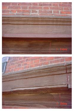 Stone restoration and repair.